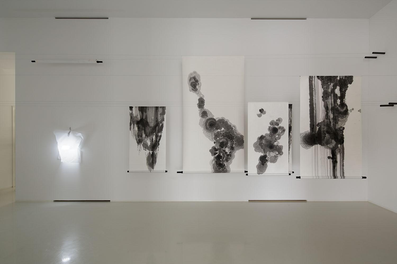 Federico Díaz, Ink Paintings